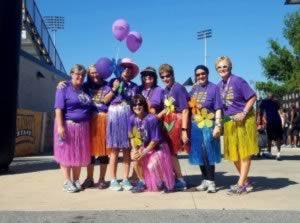 Walk to End Alzheimer's Walk group photo