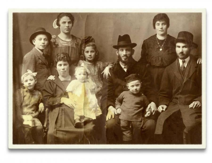 Holocaust survivor Helen's family